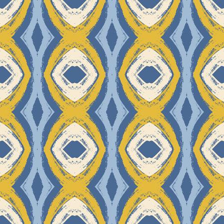 Seamless wavy pattern illustration Vector