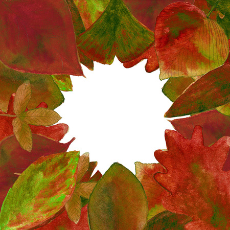 red leaves: autumn red leaves illustration with natural texture