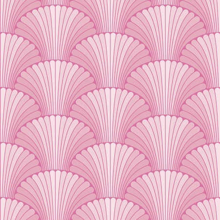 fantail: Abstract shell seamless pattern
