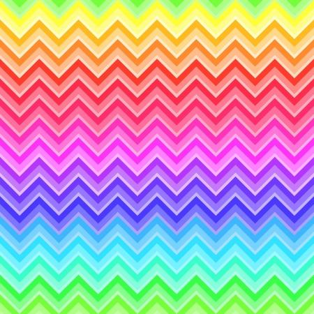 Chevron arco iris patrón de color Foto de archivo - 20708582