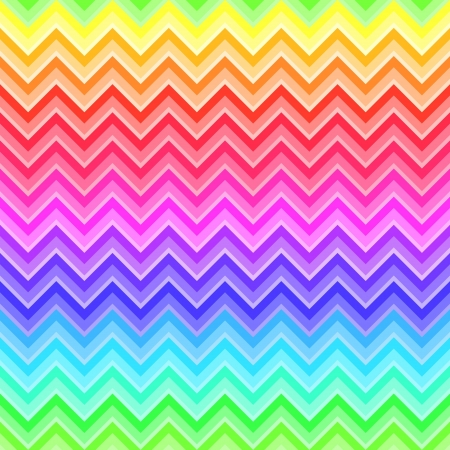 rainbow print: Chevron rainbow colored seamless pattern