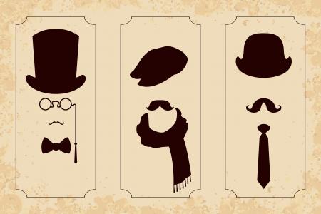 Vintage gentleman set