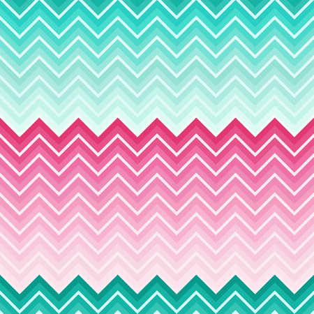 Chevron holiday colored seamless pattern Vector