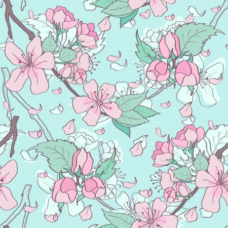 Spring floral in pastel colors