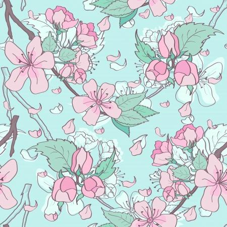 novelty: Spring floral in pastel colors