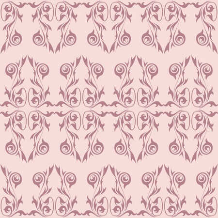 Vintage wallpaper background in pastel colors Vector