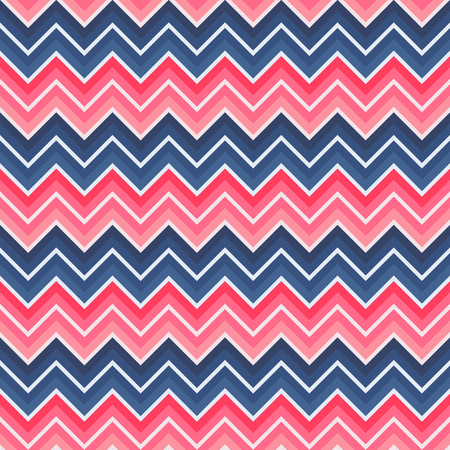 chevron seamless: Red and blue colored chevron seamless background Illustration