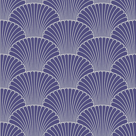 fantail: Abstract oriental style seamless pattern