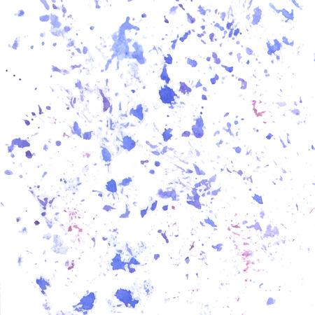 Paint splatter. Vector watercolor abstract background.