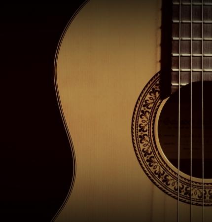 spanish classic guitar photo