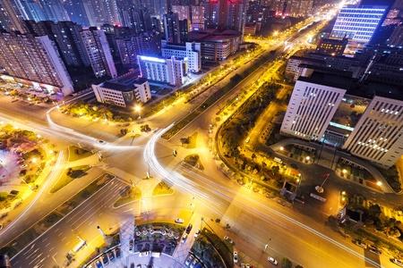 highroad: City night scene