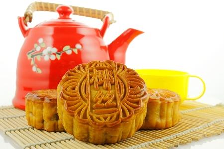 中国の月のケーキ