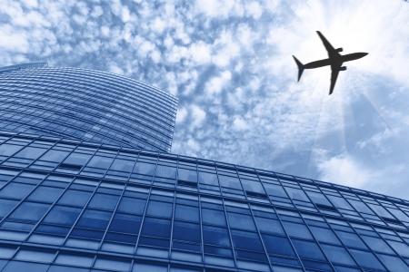 Shanghai airport buildings