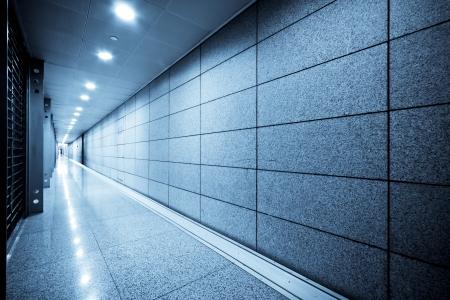 Innere des modernen architektonischen in Shanghai Airport. Editorial