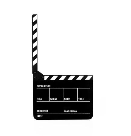 video edit: Movie Clapper Board