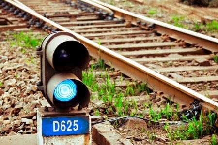 railtrack: Traffic light in railroad