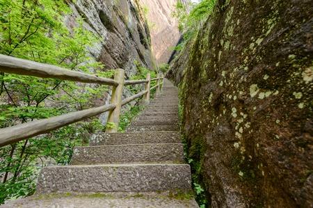 pavillion: hiking path with pavillion