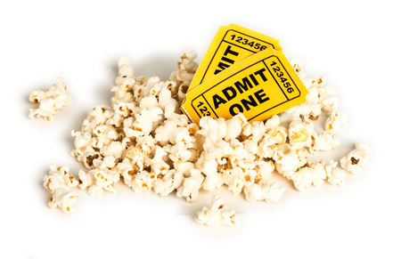 movie ticket: Pocorn and Movie