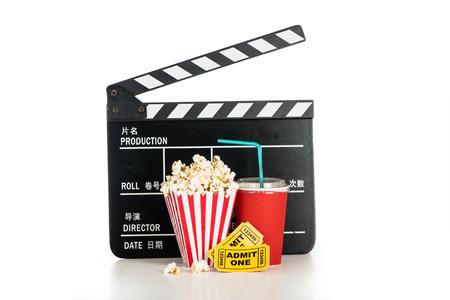 camara de cine: Objetos Cine Foto de archivo