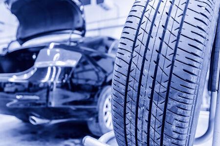 Auto repair factory photo