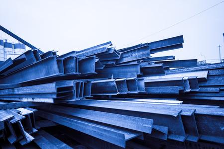 Scrap steel photo