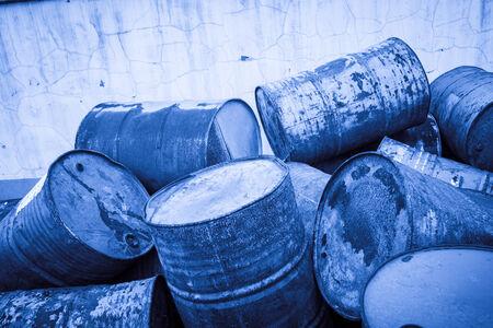 toxic: Toxic Waste Stock Photo