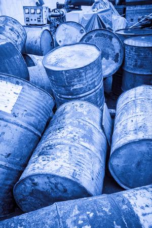 Toxic Waste Standard-Bild