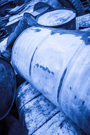 toxic waste: Toxic Waste Stock Photo