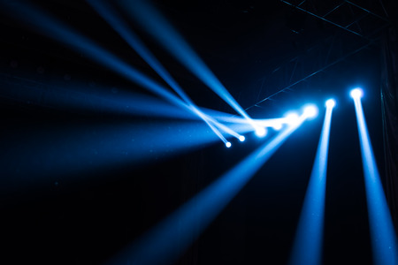 Stage Spotlight with Laser rays