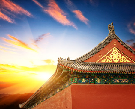 the architecture is ancient: Beijing Chinese ancient architecture, ancient religious sites