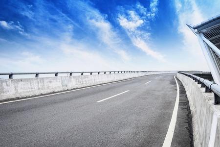 green road: Airport car road