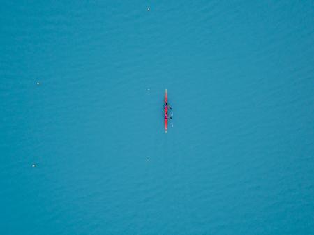 Water rowing race