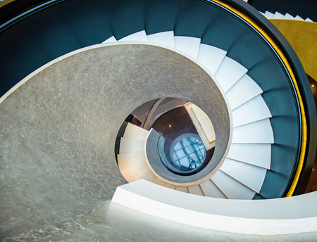 Rotating stairs, architectural features