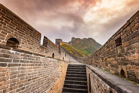 The Great Wall scenery, Chinese ancient architecture