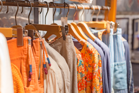 Clothing store clothes