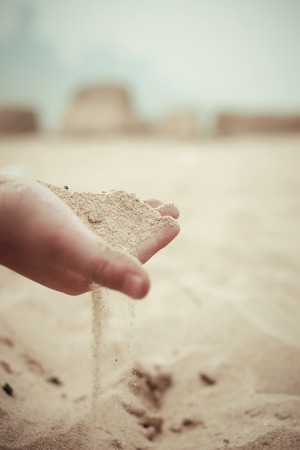 percolate: From the hand of the sand