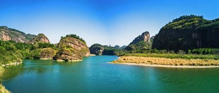 Berg Longhu, 5A, Jiangxi Standard-Bild - 77664616