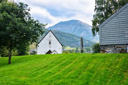 pastoral: European pastoral scene. Stock Photo