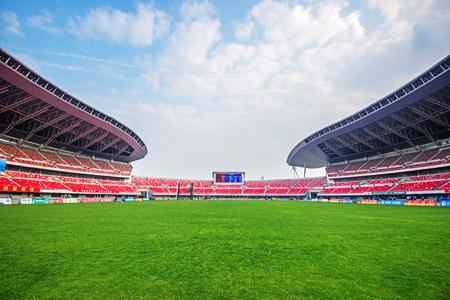 Modern outdoor stadium