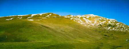 Beautiful mountains scene Standard-Bild