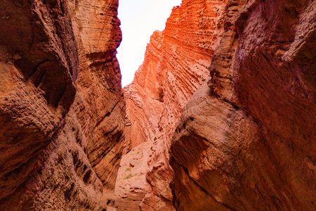 Tianshan Grand Canyon, Xinjiang, China Standard-Bild - 119129429
