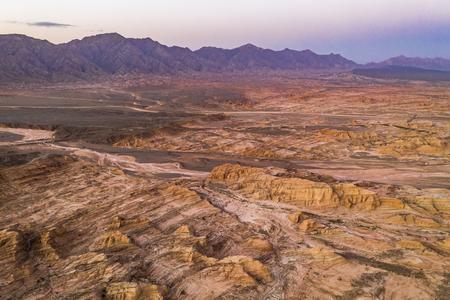 Gobi desert, Xinjiang, China Standard-Bild - 119128938