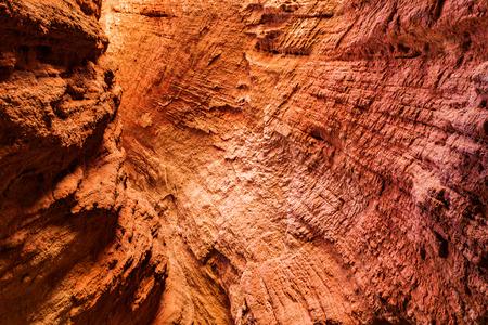 Tianshan Grand Canyon, Xinjiang, China Standard-Bild - 119128974