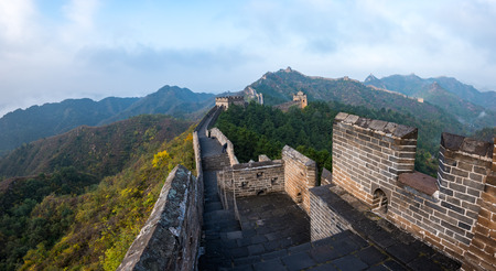 Great Wall of Beijing, China Imagens - 121171914