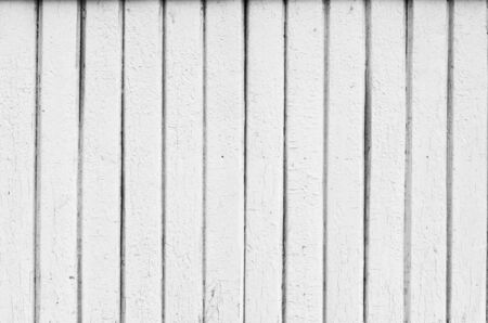 Grunge white painted wooden plank photo