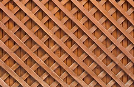 original wood fence cross pattern photo