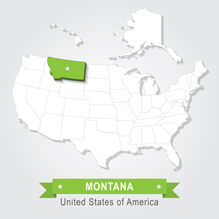 Montana State Sign Stock Photos Royalty Free Montana State Sign - Montana state usa map