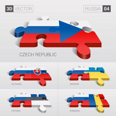 romania flag: Russia and Czech, Slovakia, Ukraine, Estonia, Romania Flag.