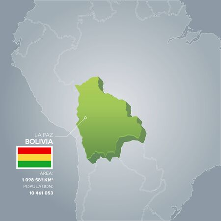 Bolivia information map.