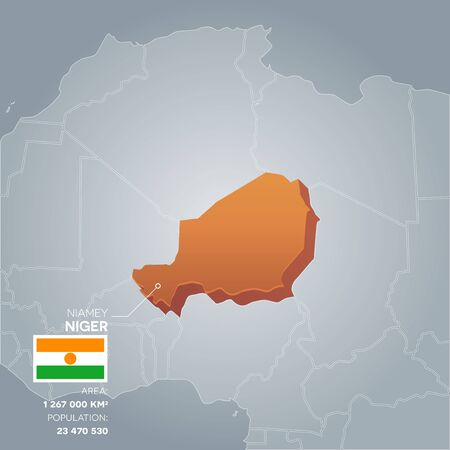 politic: Niger information map.